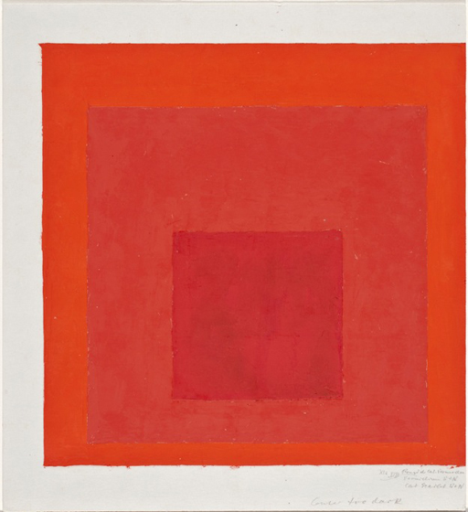 Sense Of Colors / Josef Albers