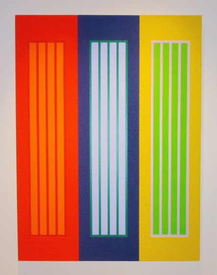 Sense of Colors / Peter Halley