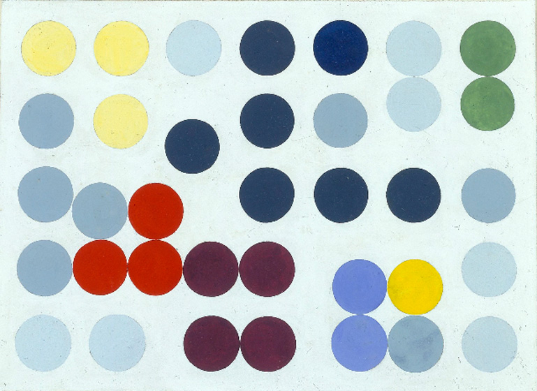 Sense Of Colors / Sophie Taeuber-Arp
