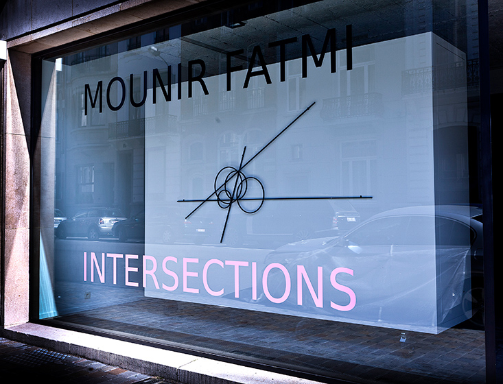 Mounir Fatmi - Intersections